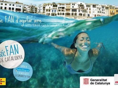 Campaña Fans de Catalunya, Gemma Mengual a Calella de Palafrugell