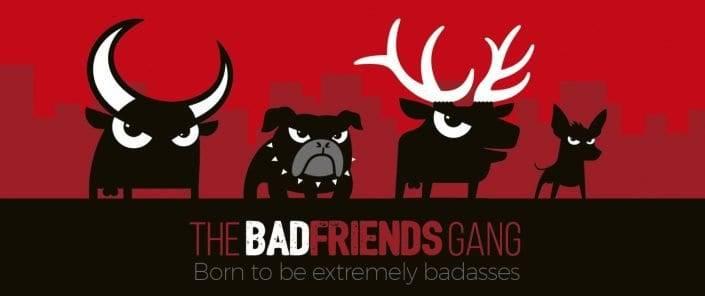Tienda Prestashop con blog Wordpress de Badfriends | Badfriends gang