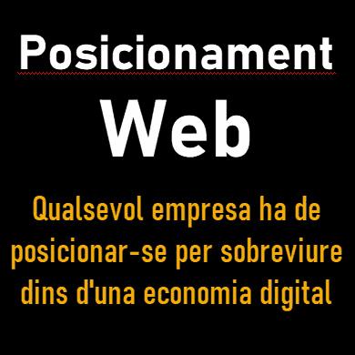 El posicionament web afavoreix el teu èxit comercial en la nova Economia Digital, el posicionament SEO és l'eina que busques!